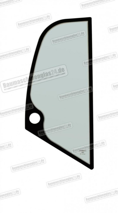 KRAMER 750/850/950/1150 - Seitenscheibe R hinter Tür
