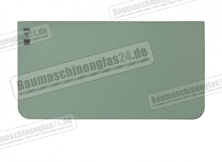 LIEBHERR LITRONIC EXCAVATOR - Frontscheibe unten - MODEL 974