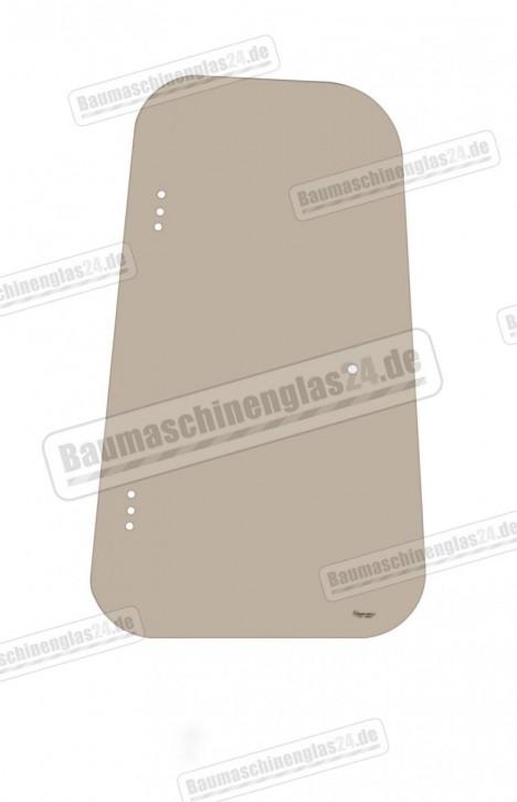 TAKEUCHI TB025 / 030 / 035 / 045 S/N:1255453--> - Scheibe rechts hinten Ausstellfenster