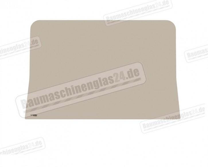 TAKEUCHI TB025 / 030 / 035 / 045 S/N:1255453--> - Frontscheibe unten