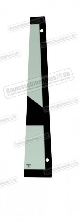 YANMAR VIO20-3 / VIO25-3 / VIO20-4 / VIO25-4 / VIO20-6A / VIO23-6 / VIO25-6A MINI EXCAVATOR (2007) - Türscheibe hinten 3tlg.